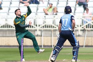 Captain Steven Mullaney, who leads his Notts troops back for pre-season training next week. (PHOTO BY: Jason Chadwick)