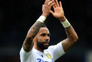 Kyle Bartley, back from suspension to possibly play against Leeds United.