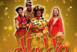 Westfield Folkhouse's adaptation of Aladdin at Mansfield Palace Theatre