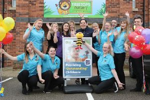 Well done to Treetops Nursery! Picture by Jason Chadwick.