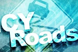 Icy roads and fog are causing chaos on Lancashire's roads this morning (January 23).