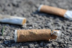 North west smokers drop hundreds of tonnes of cigarette waste every year