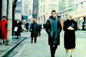 Buddy Holly in Chesterfield.