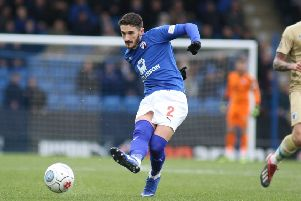 Chesterfield FC v Barrow, Bradley Barry