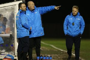 Alfreton Town Manager Billy Heath during the game between Matlock Town FC & Alfreton Town FC @ The Proctor Cars Stadium- 12-02-19 -  Image by Jez Tighe