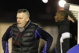Matlock Town Manager Dave Freckington faces a selection ahead for Saturday's match with Farsley Celtic. Pic by Jez Tighe.
