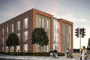 How the enterprise centre could look. Picture supplied by Chesterfield Borough Council.