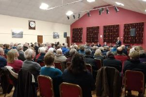 The concerns of the patient body and the future of the centre were discussed at the meeting which was attended by around 150 people.