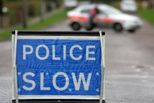 Police are warning motorists to avoid the area