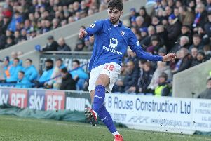 Chesterfield's on loan Imp, Ellis Chapman