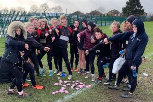 Players representing Shaw Cross rugby league spent part of their training session finding dog mess on their field.