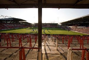 The Racecourse Ground.'Photo by Colin McPherson/Corbis via Getty Images)