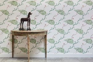 Sally loves Edward Bawden's work. This Seaweed wallpaper is �84 per roll from www.stjudes.co,uk