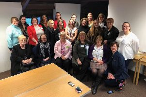 Sharon Hodgson MP at a forum she hosted as part of International Women's Day.