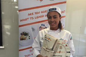 Dronfield Henry Fanshawe School student Leigh Speight, 15, has reached the national final of a prestigious competition for young chefs.