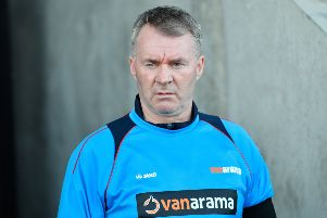 Chesterfield manager John Sheridan