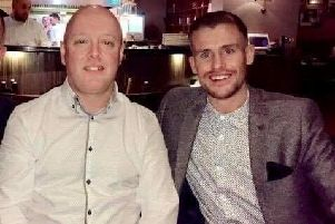 Gary Ingham is taking on the London Marathon in aid of theCystic Fibrosis Trustin support of his son-in-law, Ryan, who has the condition. (s)