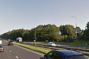 Traffic has been delayed on the A19 following collision. Image copyright Google Maps.