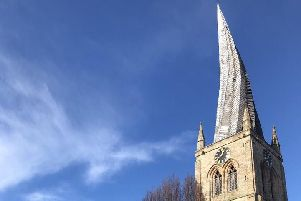 Chesterfield's Crooked Spire.