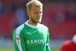 Adam Davies: Barnsley goalkeeper has not conceded a goal in six successive games. (Picture: Tony Johnson)