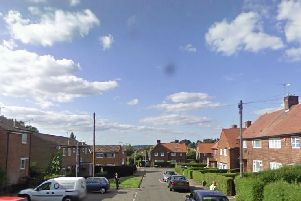 The fire broke out a a property on Manor Road. Pic: Google Images.