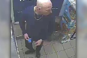 Do you recognise this man? Call police on 101.