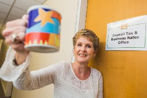 Council officer Lesley Helm is retiring after 43 years in Ribble Valley Borough Councils revenues team.