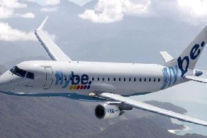 A number of Flybe flights have been affected this morning