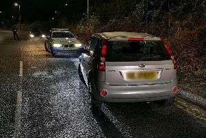 Picture by Derbyshire Roads Police.