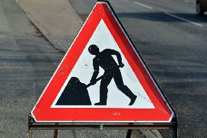 roadworks - stock