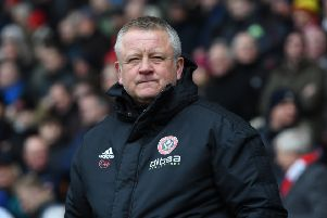 Sheffield United manager Chris Wilder: Welcome chat with Dave Bassett.