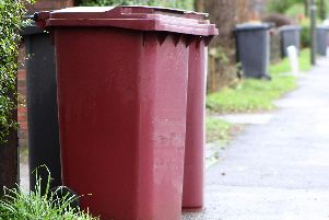 Bin collections for some Derbyshire residents will be amended over Derbyshire