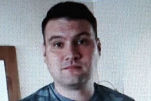 Police are eager to trace the whereabouts of missing man Josh Donegani, 30, of Somercotes, Derbyshire, as pictured.