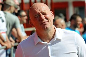 Billy Heath was a frustrated man after another home defeat for Alfreton Town.