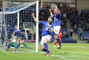 Chesterfield FC v Ebbsfleet Utd, late equaliser