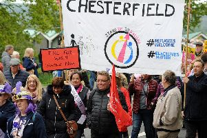 Chesterfield's May Day parade.