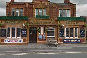 Pictured is the Shoulder of Mutton, in Hasland, Chesterfield.