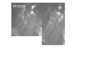 Police say they appreciate the images are not of the best quality, but they are hopeful someone who was in the club at the time will see this appeal and be able to give them more information.