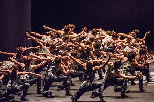 Royal Ballet's performance of Flight Pattern.