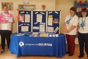 Members of the Delirium and Dementia Outreach Team based in the Alexandra Centre at Sunderland Royal Hospital.