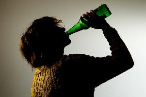 Problem drinking is on the rise in Derbyshire.