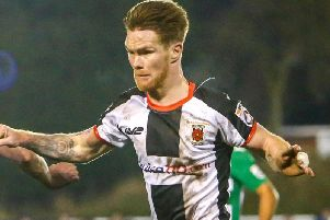 Jason Walker during his time for Chorley