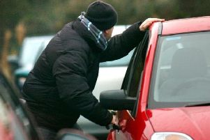 Derbyshire saw an 18.7 per cent rise in car thefts between 2017 and 2018.