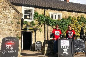 Brassington resident Amber Arthur, left, donated her 17th birthday to the Brain Tumour Charity, raising �1,500 from family and friends' gifts and a fundraising night at a village pub.
