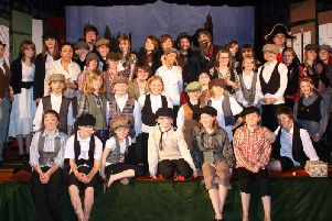 Staveley Netherthorpe School staged Oliver! in 2009.