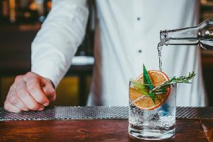 On offer is either Beefeaters blood orange gin or pink gin (Photo: Shutterstock)
