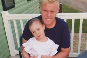 Much-loved Craig Pritchard with his daughter Lacey.