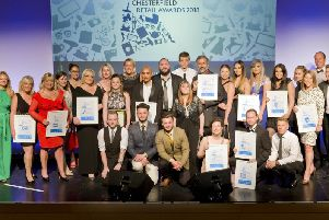 Winners at last year's Retail Awards