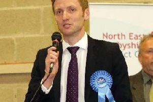North East Derbyshire MP Lee Rowley.