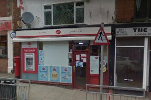 The Post Office, in Mansfield Woodhouse.